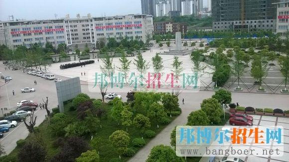 广安职业技术学院风光