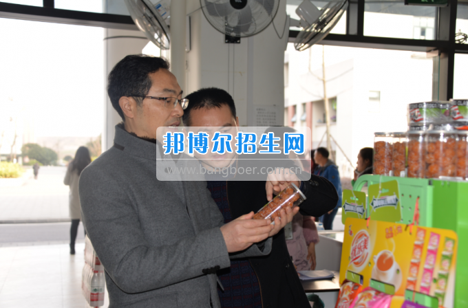 川南幼儿师范高等专科学校领导率队检查开学准备工作