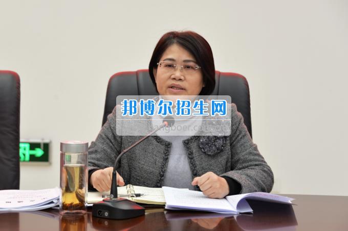 川南幼儿师范高等专科学校召开(扩大)学习会