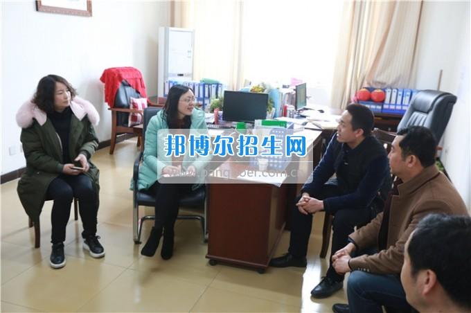 川南幼儿师范高等专科学校考察交流并巡查实习生情况