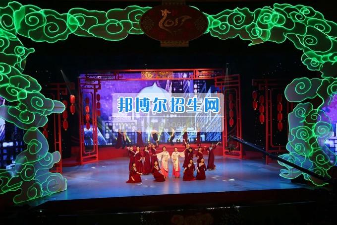 川北幼儿师范高等专科学校参演广元春晚 服务地方文化