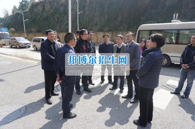 副省长陈鸣明赴贵州师范大学花溪校区调研