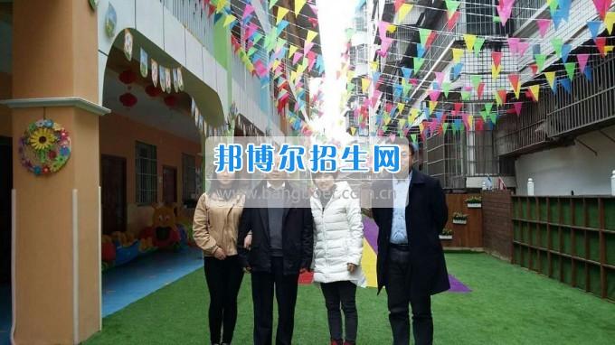 南充师范学校蔡礼儒校长赴高坪、嘉陵参加实习就业基地挂牌并看望实习生