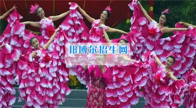 资阳师范学校200余名师生走进资阳春节特别节目演出