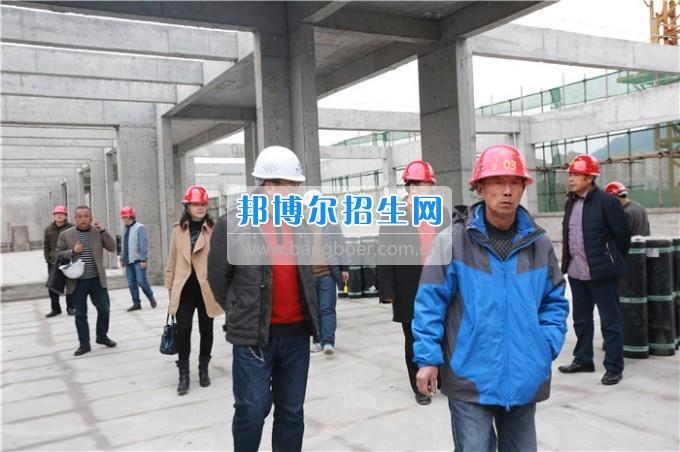川北幼儿师范高等专科学校学生公寓主体工程验收合格