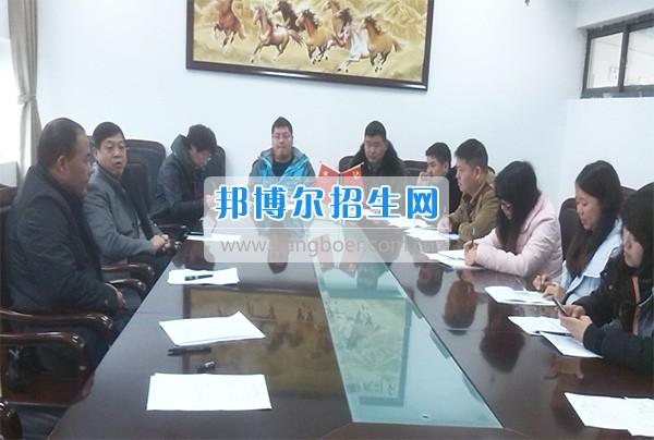 """颜勇书记参加公共教学系党支部""""两学一做""""民主评议会议"""
