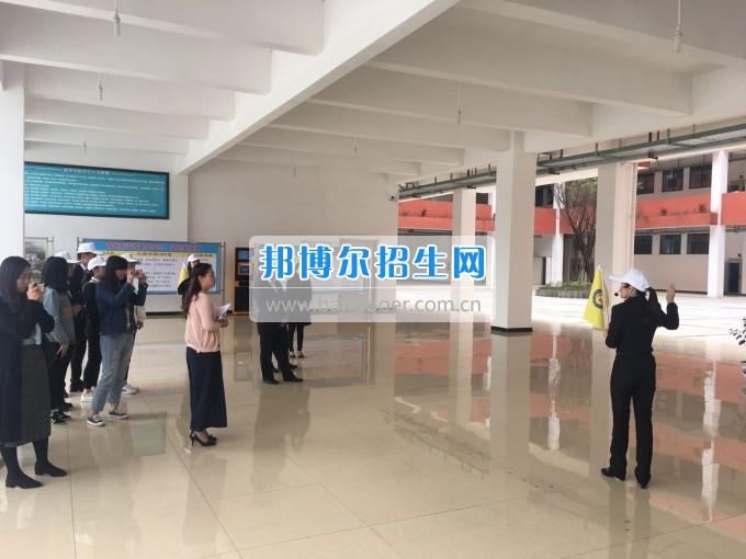 四川三河职业学院组织开展导游技能大赛