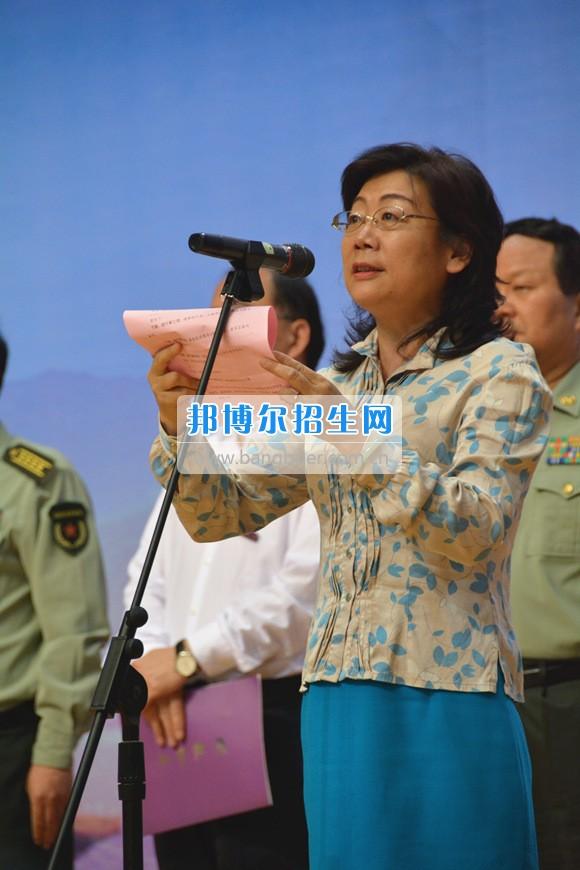 2017年云南三鑫职业技术学院大学生征兵集中宣传报名活动启动