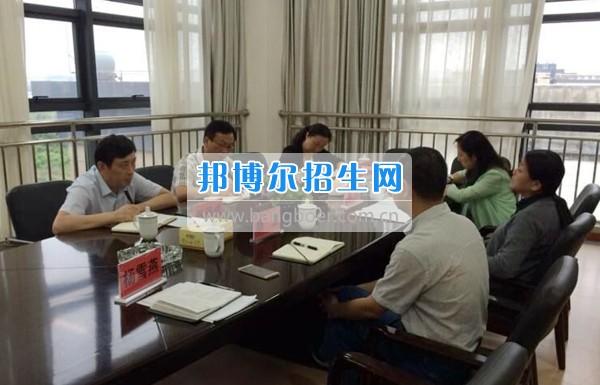 贵州警察学院来贵州商业高等专科学校参观交流