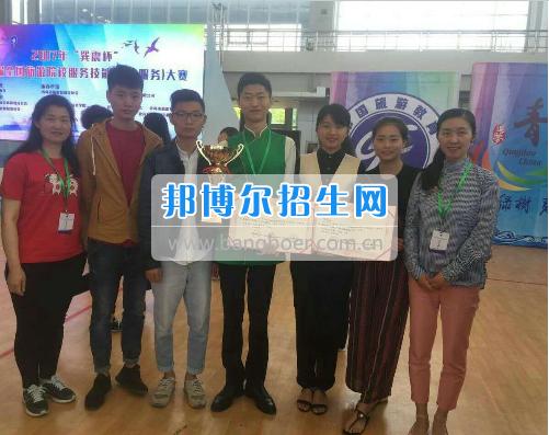 成都职业技术学院学子在第九届巽震杯旅游院校饭店服务技能大赛中荣获一等奖