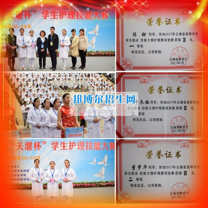 云南新兴职业学院学生参加2017年全国、全省技能大赛斩获佳绩