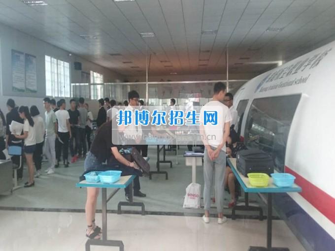 2017年春民航业特有工种职业技能鉴定在绵阳航空职业学校举行。