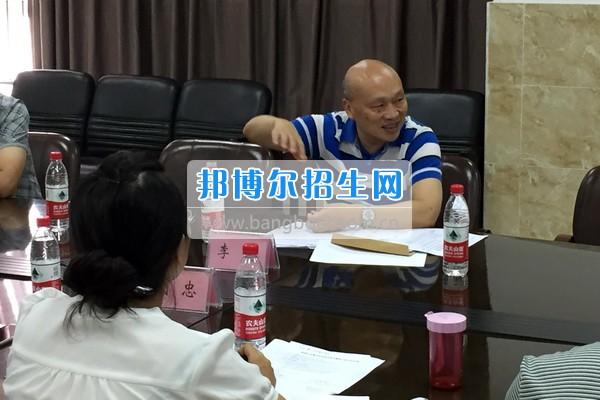 四川省教育廳蒞臨樂山職業技術學院指導工作并專題研討