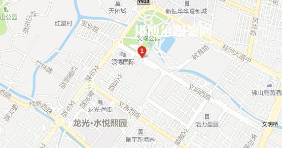 佛山顺德区胡锦超职业技术学校地址在哪里
