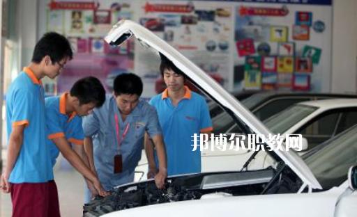 贵阳2021年初中生可以读的汽修学校